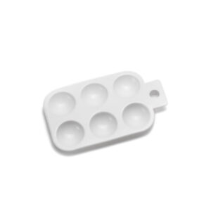 Plastic Rectangular Palette – small
